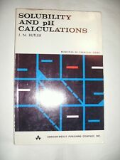 Solubility and pH Calculations by James N Butler