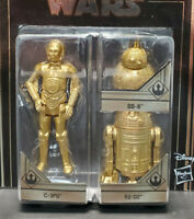 STAR WARS Skywalker Saga Commemorative Edition Gold C-3PO-R2D2-BB8 - New in Pack