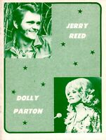 DOLLY PARTON 1974 JOLENE TOUR CONCERT PROGRAM BOOK / BOOKLET / NMT 2 MINT