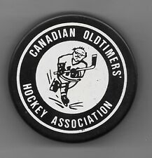Canadian Oldtimers' Hockey Association Puck Offical Cooper