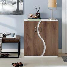 Furniture Of America Balto Contemporary Two-tone Shoe Cabinet