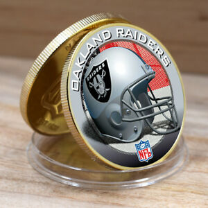 OAKLAND RAIDERS NFL Team Souvenir Coin Metal Coin Festival Souvenir Gifts