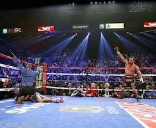 JUAN MANUEL MARQUEZ vs MANNY PACQUIAO 4 BOXING KNOCK OUT 8x10 PHOTO