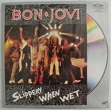 BON JOVI - Slippery When Wet ~The Videos Music Digital Master Laserdisc Edition