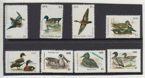 Stamp Australia 1973-1980 duck fish & wildlife Victoria set, $24 face value, MH