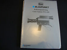 Manuale di istruzioni ORIGINALE BLAUPUNKT Color Camera tvc-150