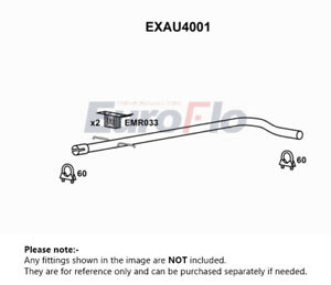 Exhaust Pipe fits VOLKSWAGEN GOLF 1J 1.9D Centre EuroFlo Top Quality Guaranteed