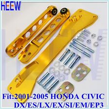 CONTROL ARM REAR SUBFRAME BRACE TIE BAR FOR CIVIC 01-05 DX ES LX EX EM/EP3 SI M