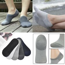 9e338351800 5pairs Mens Invisible No Show Nonslip Loafer Boat Ankle Low Cut Bamboo Socks