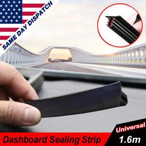 Universal Dashboard Seal Strip Windshield Push Rubber Gap Noise Insulation 1.6m