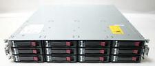 HP Storageworks MSA P2000 G3 8G FC Dual Controller Array w 12x 2TB SAS HDD
