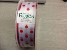 Unbranded Wire-Edged Craft Ribbons