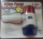 Rule 27DA Non-Automatic Bilge Water Pump 1100 GPH 12V Submersible Marine Boat photo