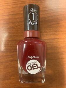 Sally Hansen Miracle Gel Nail Polish, Can't Beet Royalty 474, 0.5 fl oz