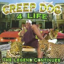New: Creep Dog: 4 Life-the Legend Continues  Audio Cassette
