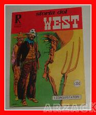 Collana Rodeo 113 STORIA DEL WEST I Conquistatori Cepim BONELLI 1976