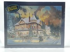 550 Pc Glow In Dark Puzzle Christmas At Great Grandpas Keith Brown Bits & Pieces