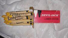 Lumber Crayons yellow box of 12