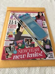 Knit Today 22 Designs & Projects Plus Milward Knitting Needles Printed In The UK