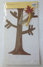 2 CRAFT ACTIVITY KITS- TREE  DECORATING KIT :1 PAPER TREE & PAPER LEAVES NEW***