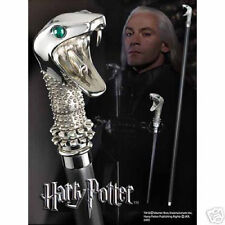 Harry Potter Lucius Malfoy Cane Walking Stick & Wand, Licensed Prop Reproduction