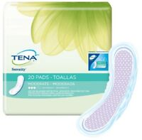 3 Bags Tena Serenity Pads Moderate Absorbency, Reg Length Bladder Control Pad