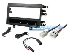CAR STEREO RADIO CD PLAYER INSTALLATION DASH MOUNTING KIT WITH WIRING HARNESS