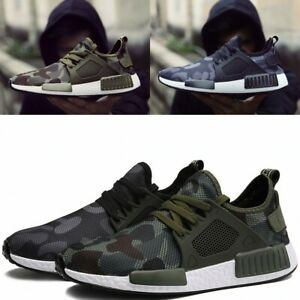 Men's Athletic Casual Camouflage Sneakers Running Breathable Sport Hiking Shoes