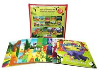 Miles Kelly Dinosaur Adventures 10 Books Collection Set With Bag For Childrens