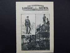 Illustrated London News Cover S8#14 Jan 1888 Austro-Hungarian Army