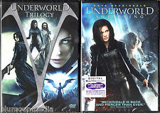 Underworld 1 2 3 4 DVD Lot Rise of Lycans Evolution Awakening 4 movie set NEW