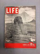 LIFE MAGAZINE OCTOBER 19, 1942 SAND-BAGGED SPHINX SINKORSKY AMPHIBIAN HELICOPTER