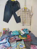 Marken KLEIDERPAKET 22 Teile Gr. 98 Jungen Kleidung Hemd Jeans Sweatshirt  KP22