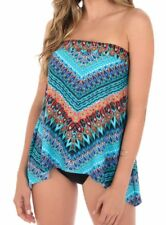 NEW Magicsuit by MIRACLESUIT SWIMSUIT 16 TANKINI TOP ONLY Casbah Bandini