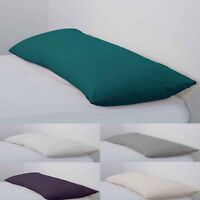 Non-Allergenic Bolster Pillow & Cases Long Body Support Orthopedic Pregnancy