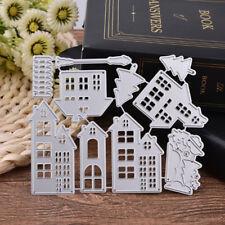 House Metal Cutting Dies Stencil Scrapbook Paper Craft Embossing DIY Die-Cut