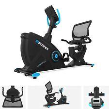 Cardio Exercise Bike Recline Machine Magnetic Cycle Fitness E-Power Bike