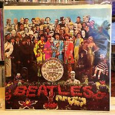 [ROCK/POP]~VG+ LP~The BEATLES~Sgt. Pepper's Lonely Hearts Club Band~w/Insert~[19