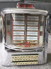 Seeburg 3WA 200 play wallbox Stunning chrome & original glass Very Rare Jukebox