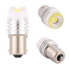 2PCS BA15S P21W 1156 White 1 COB Samsung SMD LED Tail Stop Brake Strobe Bulb