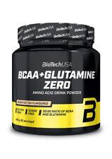 BioTechUSA - BCAA + Glutamine ZERO - 480 g Dose - Aminosäuren L-Glutamin - Vegan