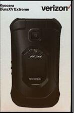 Kyocera DuraXV Extreme E4810 Rugged 4G LTE Flip Basic Cell Phone Verizon Black