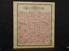 Minnesota Otter Tail County Map Butler Corliss Township 1912 Dbl Side K12#74