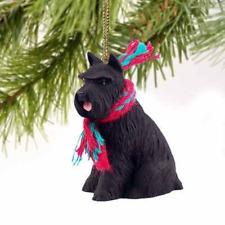 1 X Schnauzer Miniature Dog Ornament - Black by Conversation Concepts