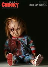 Sideshow Chucky prop replica doll life size 1:1  completed