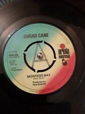 """Sugar Cane – Montego Bay Vinyl 7"""" Promo Single Ariola Hansa AHA 524 1978"""
