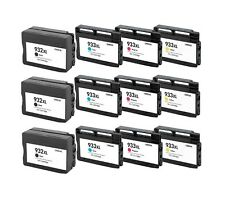 12 Pack/Pk Compatible 932XL 933XL Ink Cartridge For HP Officejet 6100 6600 6700