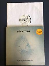 TANGERINE DREAM Phaedra LP Vinyl VG/VG+ White Label Promo