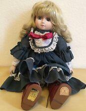 "Brinn's Doll collectible porcelain musical plays""Lara's Theme""Dr. Zhivago blonde"