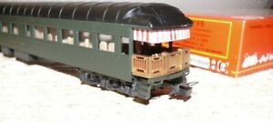 K26 Rivarossi  2695 US Oberservation Car  Pullmann Car Baltimore & Ohio